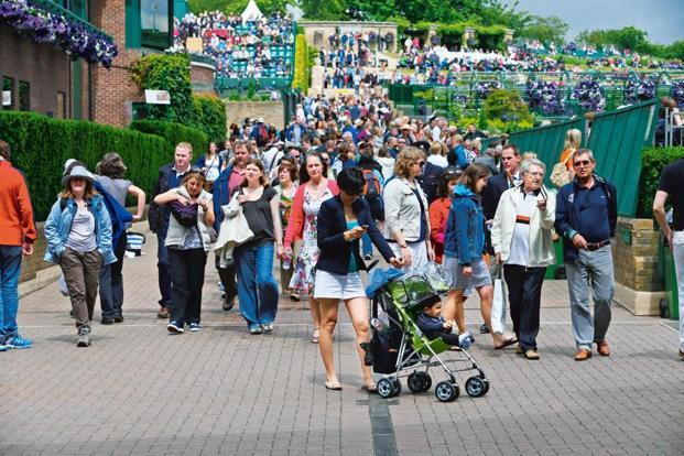 No Kidding This Is Wimbledon Livemint - Where is wimbledon